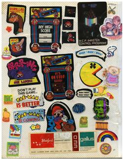 TimLybargercom Pac Man Stickers