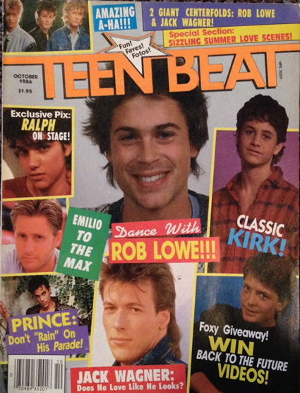 Timlybarger Com Teen Beat October 1986